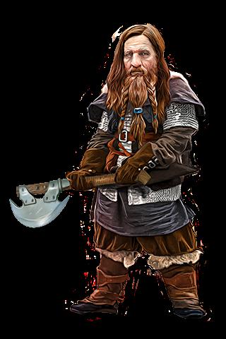 Dwarf 5E (D&D Fifth Edition)