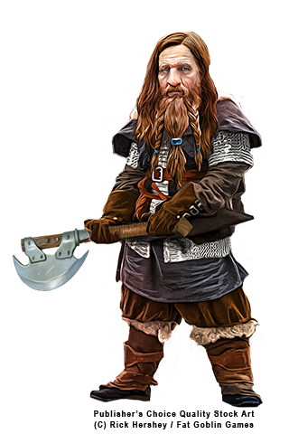 Dwarf 5E (D&D Fifth Edition)